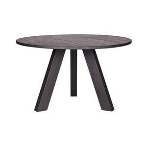 Čierny jedálenský stôl DeEekhoorn Rhonda