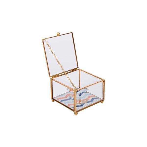 Sklenená šperkovnica Portagioie