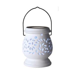 Svietnik Solar Energy Clay Lantern White