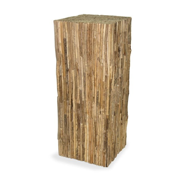 Drevený podstavec Logs, 75 cm