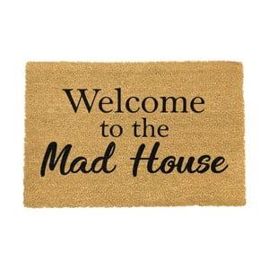 Rohožka Artsy Doormats Welcome To The Mad House, 40 × 60 cm