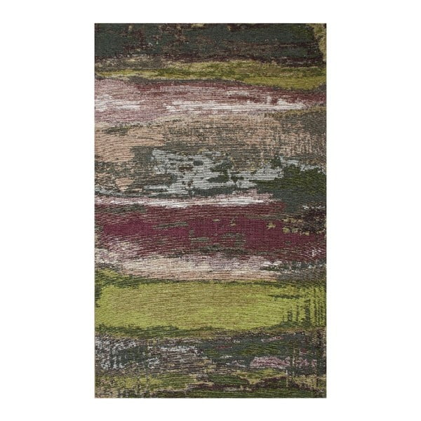 Koberec Eco Rugs Green Abstract, 80×150 cm