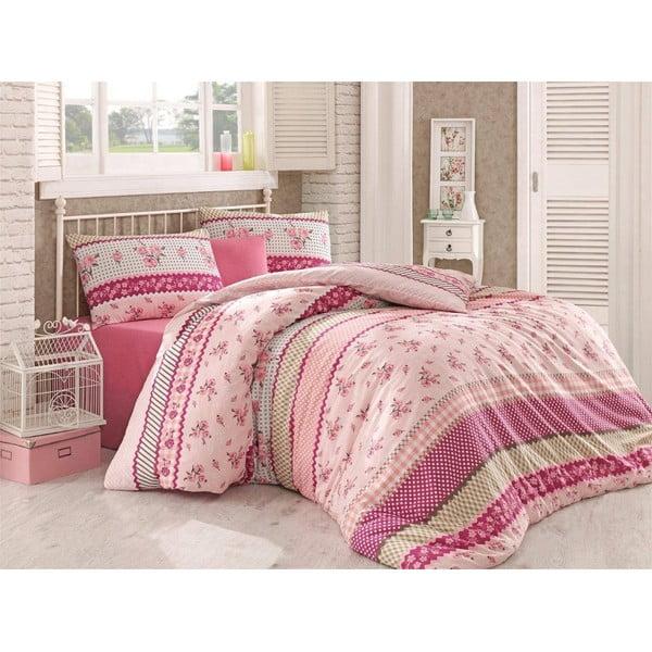 Obliečky Leone Pink, 200x220 cm