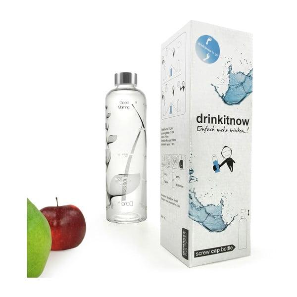 Fľaša Drinkitnow Flipper 1 l, čierna