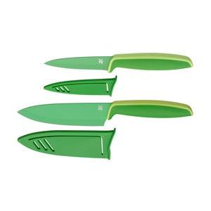 Sada 2 zelených nožov s krytom WMF Touch