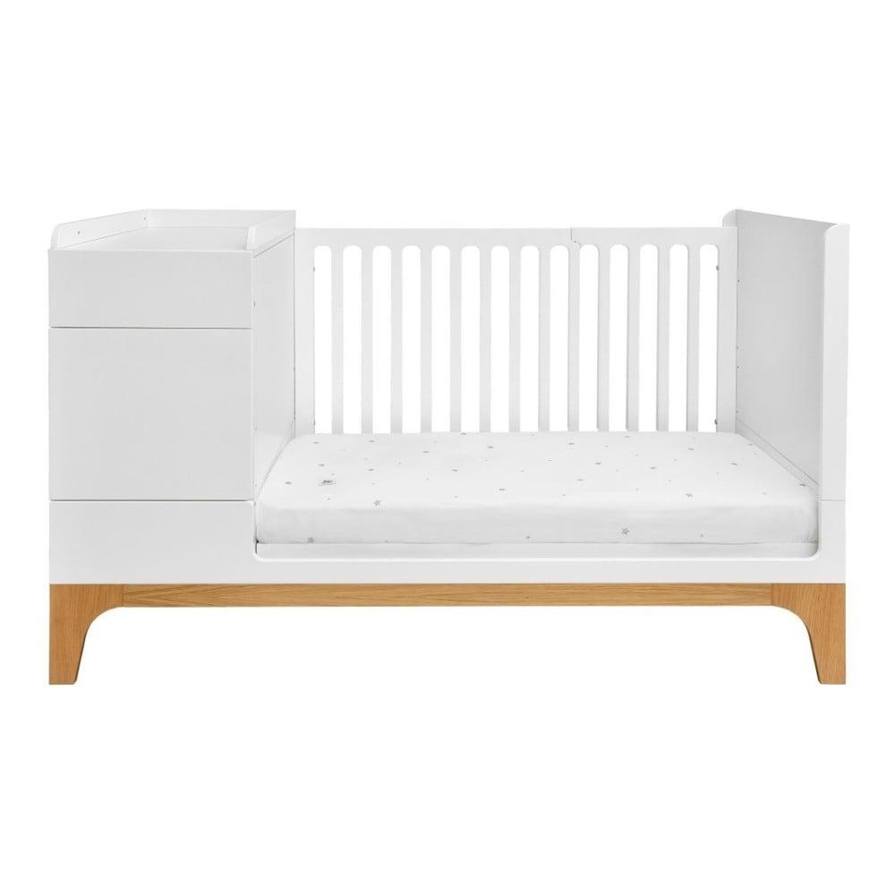 Konvertibilná detská posteľ BELLAMY UP, až 70 × 16 cm
