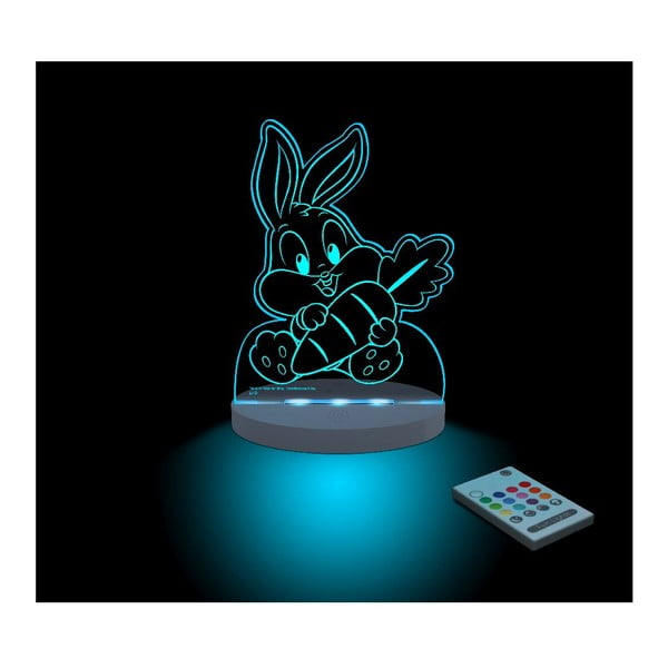 Detské LED nočné svetielko Bugs Bunny