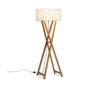Stojacia lampa Wood Cream