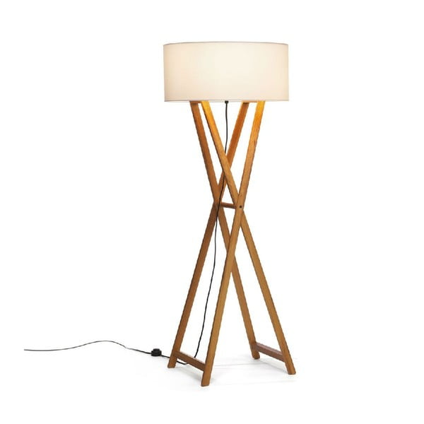 Stojacia lampa Wood Cream