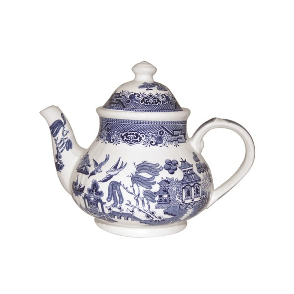 Kanvica Churchill China Blue Willow, 1200 ml