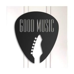 Kovová nástenná dekorácia Good Music