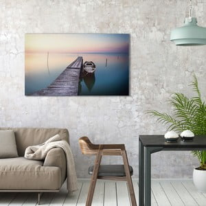 Obraz na plátne OrangeWallz Boat, 70 x 118 cm