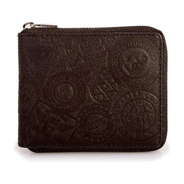 Kožená peňaženka Lois Brown, 10,5x8,5 cm