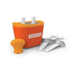 Oranžový zmrzlinovač Zoku Duo