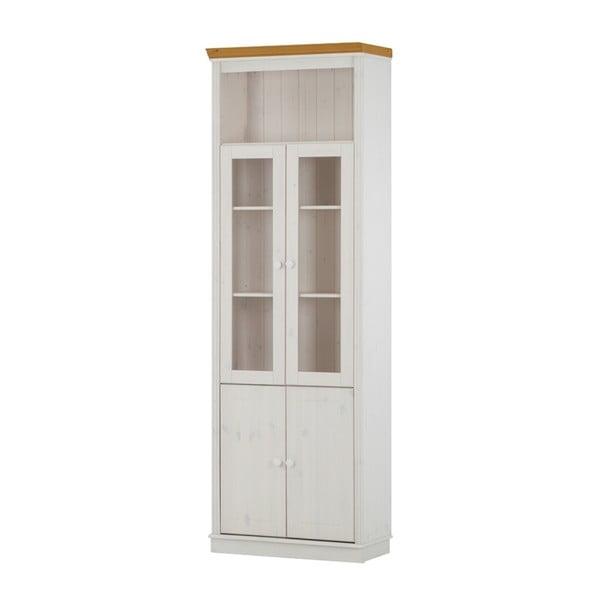 Biele dvere k vitríne z borovicového dreva Støraa Annabelle