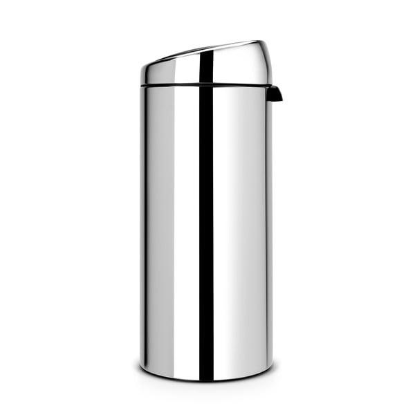 Dotykový odpadkový Kôš Touch Bin, 30 l, lesklá oceľ