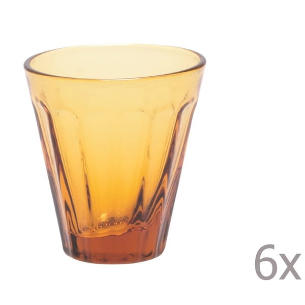 Sada 6 pohárikov na likér Lucca Honey, 50 ml