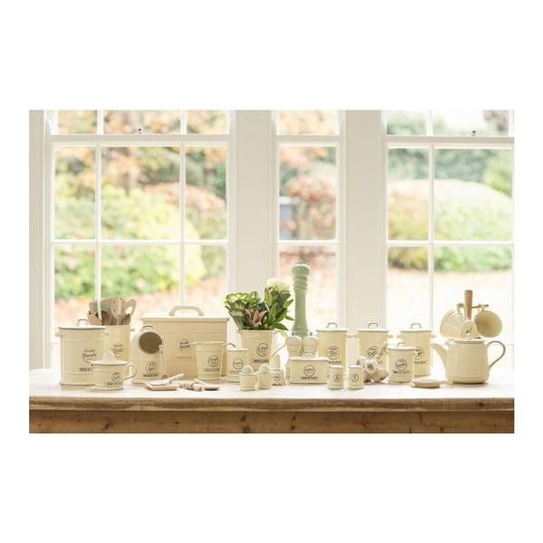 Krémová porcelánová dóza na čaj T&G Woodware Pride of Place