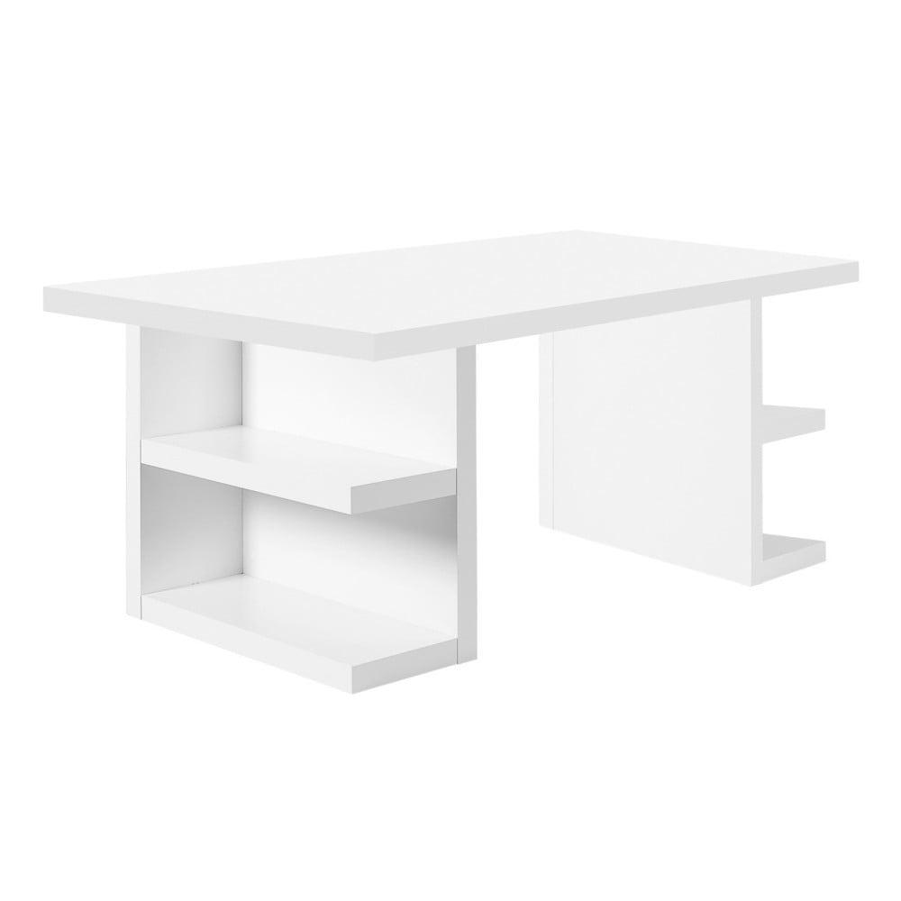 Biely pracovný stôl TemaHome Multi, 180 cm