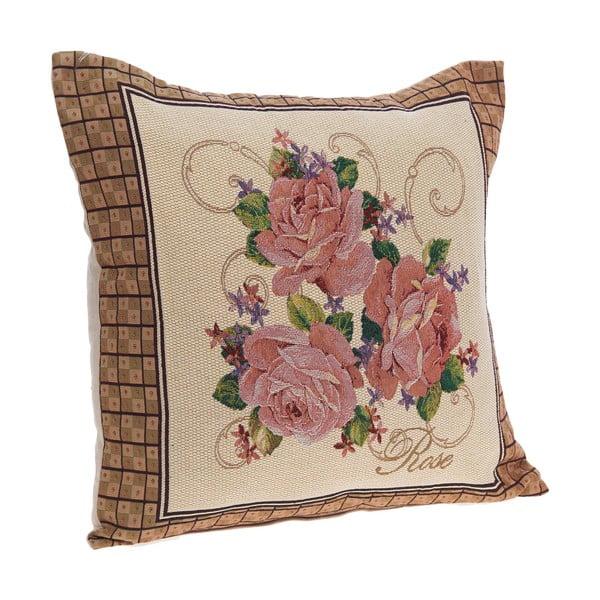 Vankúš Vintage Roses, 45x45 cm