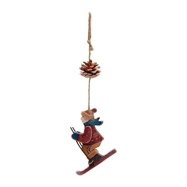 Závesná dekorácia Skiing Boy Paul