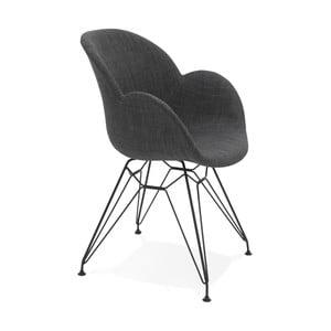 Čierna jedálenská stolička Kokoon Equium