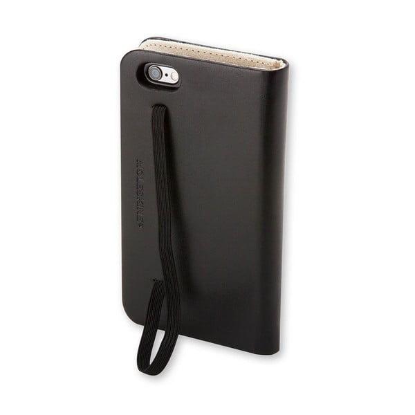 Čierny obal na iPhone 6 Moleskine