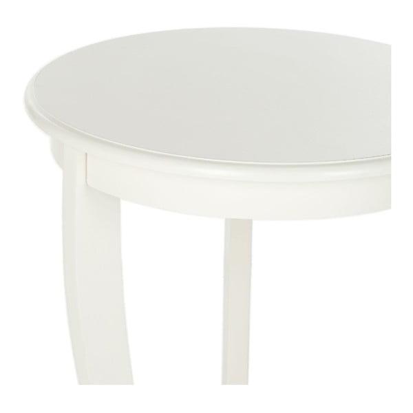 Odkladací stolík Safavieh Pedestal Cream