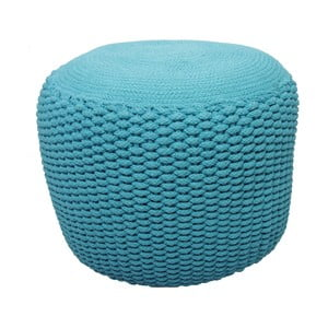 Detský sedací pufík Needle Turquoise