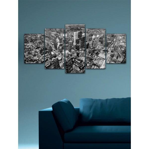 Viacdielny obraz Black&White no. 40, 100x50 cm