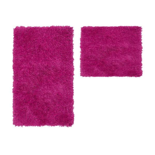 Sada 2 kúpeľňových predložiek Citylights Purple