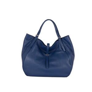 Modrá kožená kabelka Andrea Cardone Luca