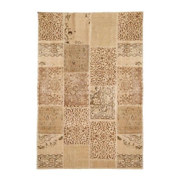 Vlnený koberec Allmode Patchwork Light, 200x140 cm