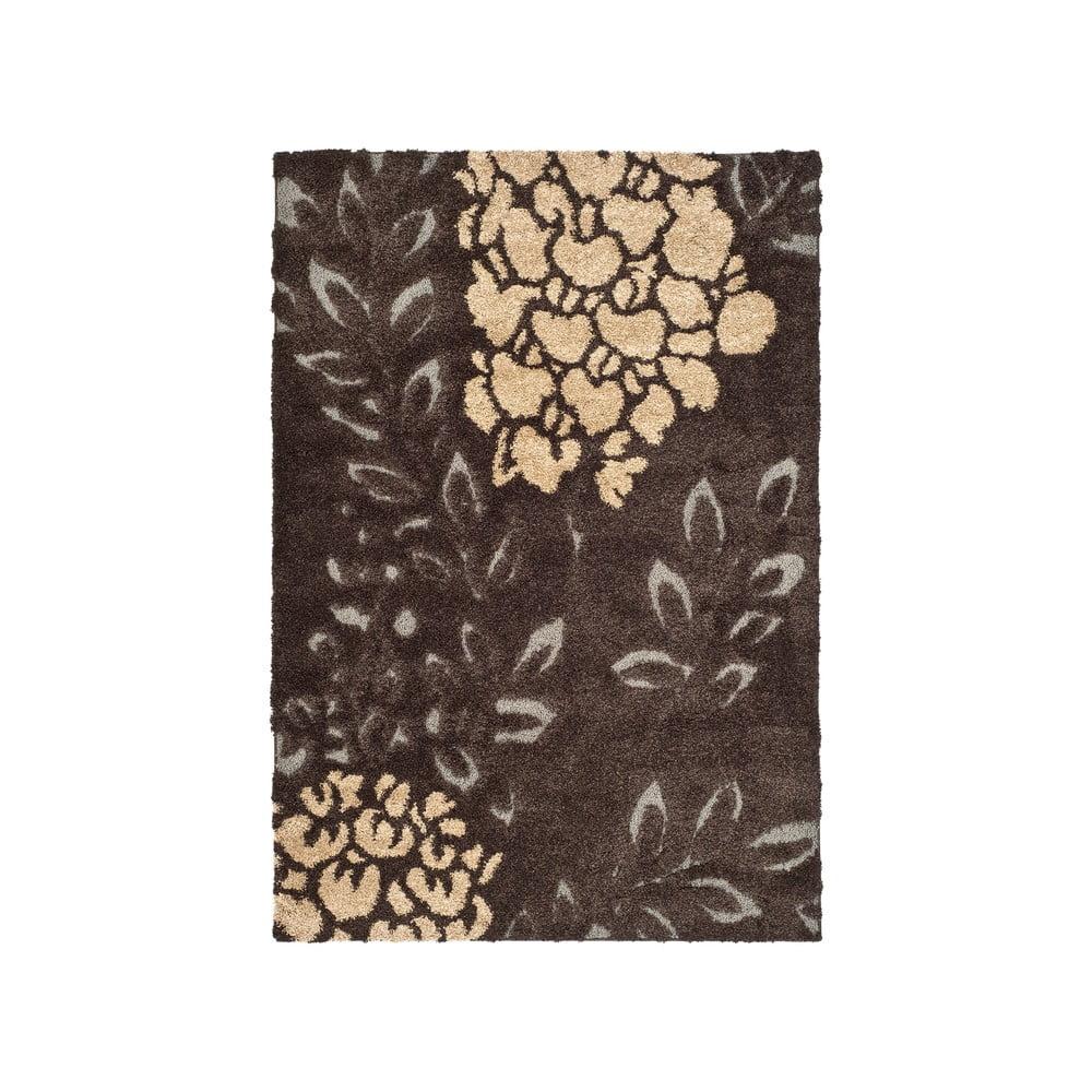 Hnedý koberec Safavieh Felix, 68 × 121 cm