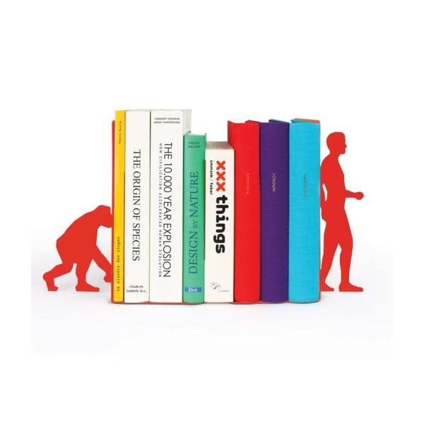 Zarážky na knihy Evolution Red