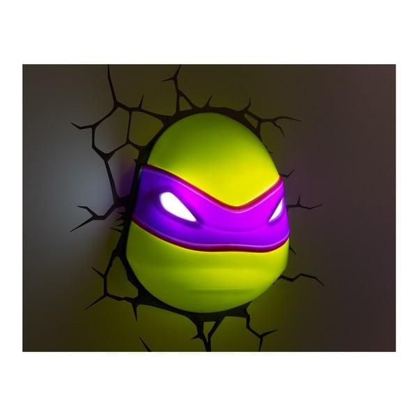Nástenné svetlo s nálepkou Donatello