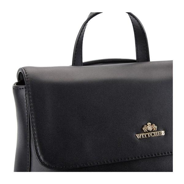 Kožená kabelka/batôžtek Elegance Black