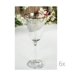 Sada 6 sklenených pohárov Isidoros, 250 ml