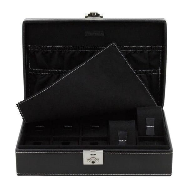 Krabička na hodinky London 10 Black