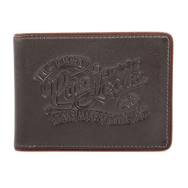 Kožená peňaženka Lois Jeans Steve, 11x8 cm