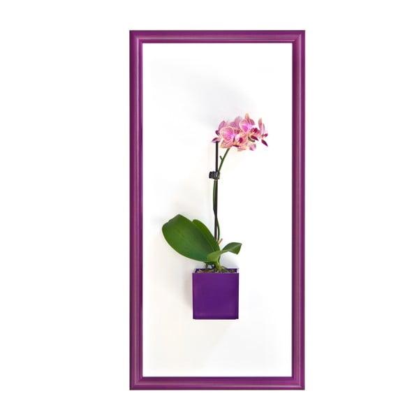 Magnetický obraz, fialový, 23x50 cm