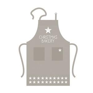 Bavlnená kuchynská zástera s vianočným motívom PPD Baking Star