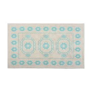 Bavlnený koberec Oni 120x180 cm, tyrkysový