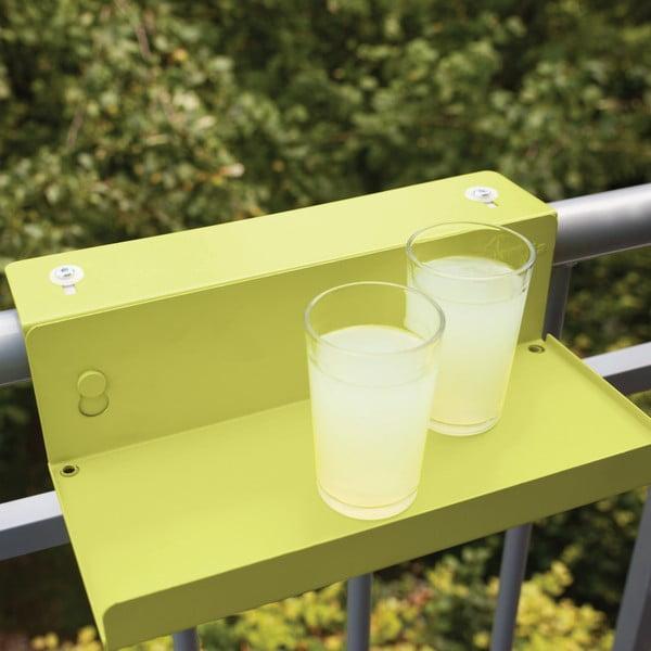Sada 2 poličiek na zábradlie balkóna Esschert Design Magic