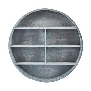 Sivá polica v kruhovom ráme Villa Collection