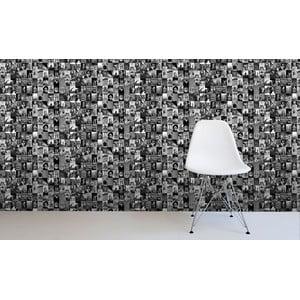 Tapetová rolka Čiernobiely život, 53x1005 cm