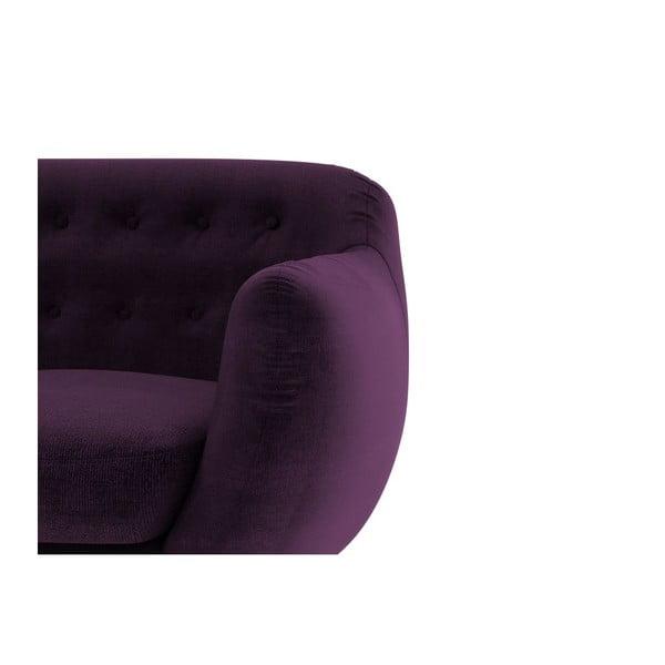 Pohovka Indigo pre dvoch, fialové
