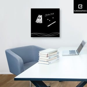 Magnetická tabuľa Eurographics Swirly Lines Luxury