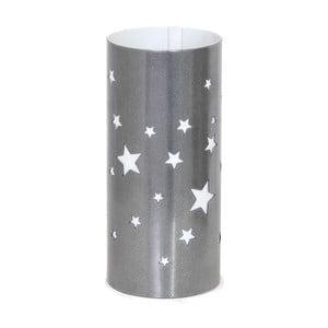 Sivá stolová lampa Glimte Star Small
