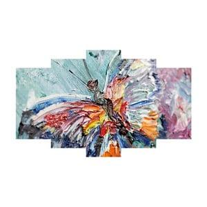 5-dielny obraz Colorful
